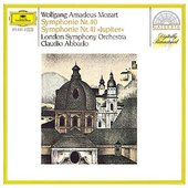 Mozart, Wolfgang Amadeus - MOZART Symphonien Nos. 40 + 41 Abbado