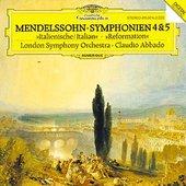 Mendelssohn Bartholdy, Felix - MENDELSSOHN Symphonien No. 4 + 5 Abbado