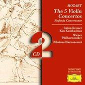 Mozart, Wolfgang Amadeus - MOZART 5 Violinkonzerte Kremer