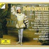 Mozart, Wolfgang Amadeus - MOZART Don Giovanni Karajan