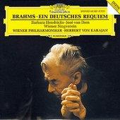 Brahms, Johannes - BRAHMS deutsches Requiem Karajan