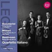 Luigi Boccherini, Wolfgang Amadeus Mozart, Ludwig Van Beethoven - Legacy: Quarteto Italiano (2012)