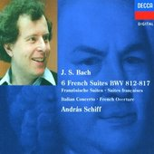 Schiff, András - J.S. Bach French Suites, BWV 812 - 817 András Schi