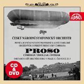 Divadlo Járy Cimrmana - Proso/CD+DVD CD OBAL
