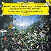 Mendelssohn Bartholdy, Felix - MENDELSSOHN Midsummer Nights Dream / Ozawa