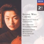 Previn, André - KYUNG WHA CHUNG / THE GREAT VIOLIN CONCERTOS