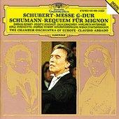 Claudio Abbado - SCHUBERT Messe SCHUMANN Requiem / Abbado
