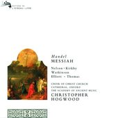 Handel, Georg Friedrich - HANDEL Messiah / Hogwood