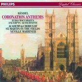 Handel, Georg Friedrich - HANDEL Coronation Anthems