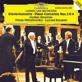 Leonard Bernstein - BEETHOVEN Klavierkonzerte 3 + 4 Zimerman