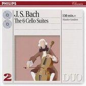 Bach, Johann Sebastian - J.S. Bach 6 Suites for Cello solo, Maurice Gendron