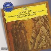 Liszt, Franz - FRANZ LISZT Années de pèlerinage / Wilhelm Kempff