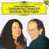 Beethoven, Ludwig van - BEETHOVEN Violin Sonatas 9 + 10 / Kremer, Argerich