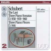 Schubert, Franz - Schubert The last three Piano Sonatas, Alfred Bren
