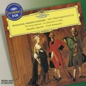 Mozart, Wolfgang Amadeus - MOZART String Quintets / Amadeus Quartet