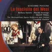Puccini, Giacomo - PUCCINI La fanciulla del West DVD-VIDEO