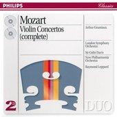 Mozart, Wolfgang Amadeus - Mozart Violin Concertos 1-5 Arthur Grumiaux
