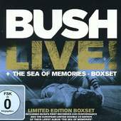 Bush - Live! + The Sea Of Memories (2CD+DVD, Limited Edition, 2013)