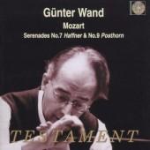 Wolfgang Amadeus Mozart / Günter Wand - Serenades No. 7 Haffner & No. 9 Posthorn (Edice 2003)