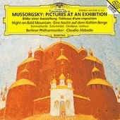 Mussorgsky, Modest Petrovich - MUSSORGSKY Bilder e. Ausstellung Abbado