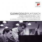 Johann Sebastian Bach - Glenn Gould Plays Bach: Piano Concertos Nos. 1-5 & 7 (2CD, 2012)