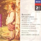 Rossini, Gioacchino - Rossini 14 Overtures Chailly