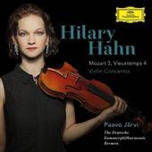 Hilary Hahn - Koncerty Pro Housle: Mozart 5, Vieuxtemps 4 (2015)