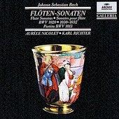 Bach, Johann Sebastian - BACH Flute Sonatas / Nicolet, Richter