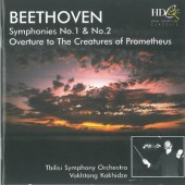 Ludwig van Beethoven - Symphonies No.1 & No. 2