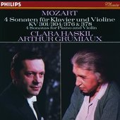 Mozart, Wolfgang Amadeus - Mozart Sonatas for Piano & Violin, Clara Haskil