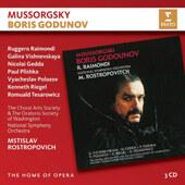 Modest Petrovič Musorgskij / Mstislav Rostropovich - Boris Godunov (Edice The Home Of Opera 2018)