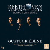 Quatuor Ebene - Beethoven Around The World: The Complete String Quartets (7CD, 2020)