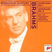 Johannes Brahms / Leonard Bernstein - Symphony No. 1, Serenade No. 2 (Edice 1999)