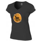 Jelen - Tričko černé dámské  (L) - Jelen