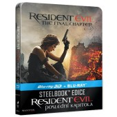 Film/Akční - Resident Evil: Poslední kapitola (Steelbook, 3D+2D)