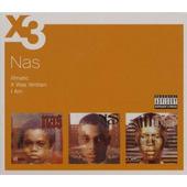 Nas - Illmatic / It Was Written / I Am... (3CD, 2007)