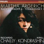 Riccardo Chailly - ARGERICH / RACHMANINOV, TCHAIKOVSKY Piano Concerto