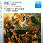Various Artists Consort of Musicke - Lamento d'Arianna
