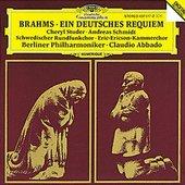 Brahms, Johannes - BRAHMS Ein deutsches Requiem Abbado