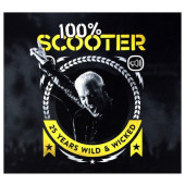 Scooter - 100% Scooter (25 Years Wild & Wicked) /3CD, 2017