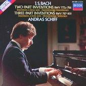 Bach, Johann Sebastian - J.S. Bach Inventions András Schiff