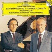 Beethoven, Ludwig van - BEETHOVEN Klavierkonz. 5 Pollini Abbado