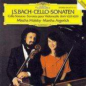 Martha Argerich - BACH Cellosonaten Maisky Argerich