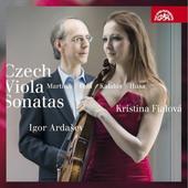 Igor Ardašev, Kateřina Englichová - Martinů, Kalabis, Husa, Feld: České Violové Sonáty (2017)