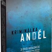 Film/Seriál - Kriminálka Anděl/3DVD Box