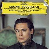 Mozart, Wolfgang Amadeus - MOZART Klavierson. KV 283,331 Pogorelich