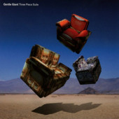 Gentle Giant - Three Piece Suite (CD+Blu-ray, 2017) CD OBAL