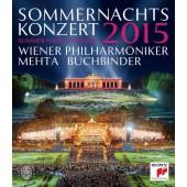Vídeňští filharmonici - Koncert letní noci 2015 (Blu-ray, 2015)