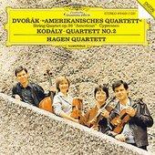 Hagen Quartett - HAGEN QUARTETT DVORAK »American« + KODALY