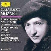 Mozart, Wolfgang Amadeus - MOZART Piano Concertos No. 20 + 13 / Haskil